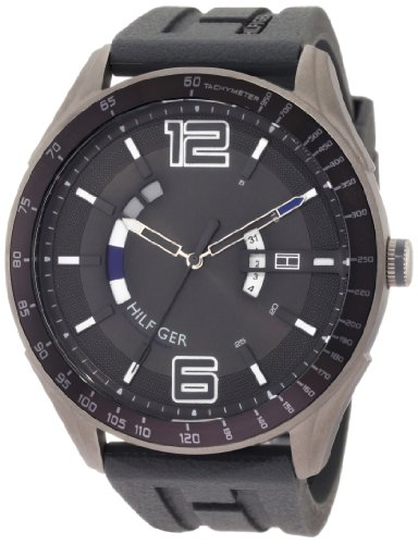 Tommy-Hilfiger-Mens-1790799-Sport-Grey-Tonal-Silicon-Watch