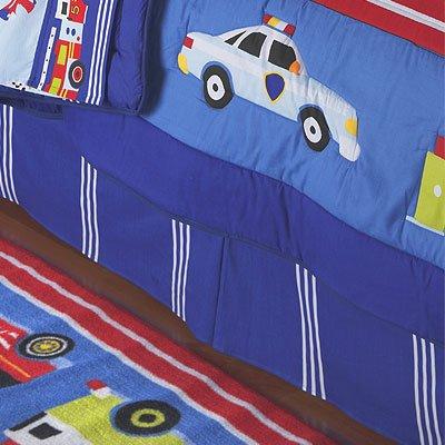 Olive Kids Heroes Full Bedskirt front-942240