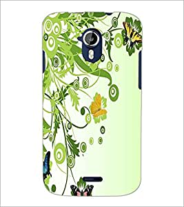 PRINTSWAG BUTTERFLIES Designer Back Cover Case for MICROMAX A117 CANVAS MAGNUS