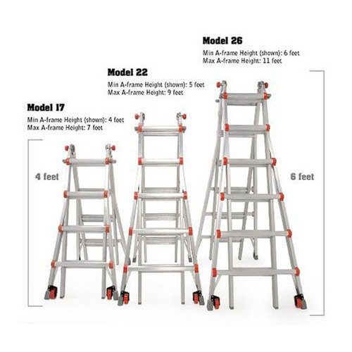 Little Giant Classic 10126lgw 300 Pound Duty Rating Ladder