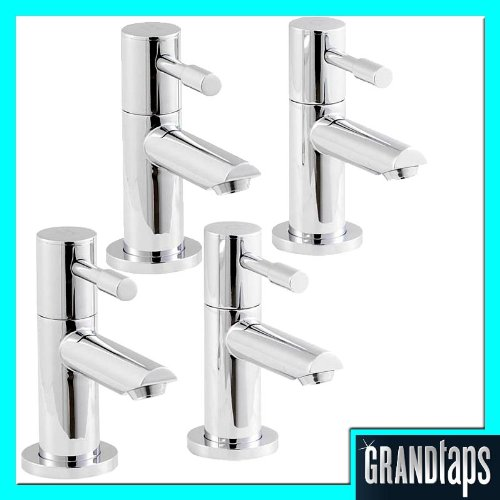 Bath Basin Tap Set (Minima 2H) 2 Pairs Of Taps by Grand Taps
