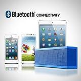 Photive CYREN Portable Wireless Bluetooth Speaker with Built in Speakerphone 8 hour Rechargeable Battery - Orange