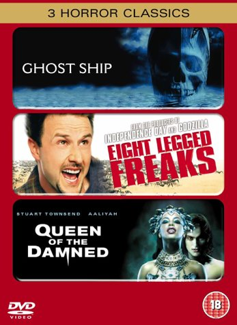Ghost Ship/Eight Legged Freaks/Queen of the Damned [DVD]