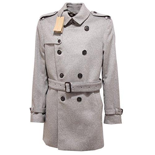 6021Q cappotto uomo BURBERRY LONDON cachemire check coat men [54]