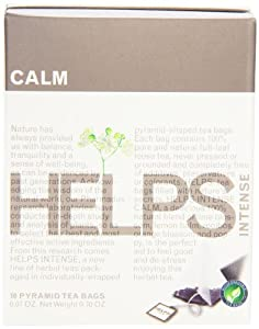 Helps Intense Herbal Teas, Calm, 10 Count (Pack of 12)