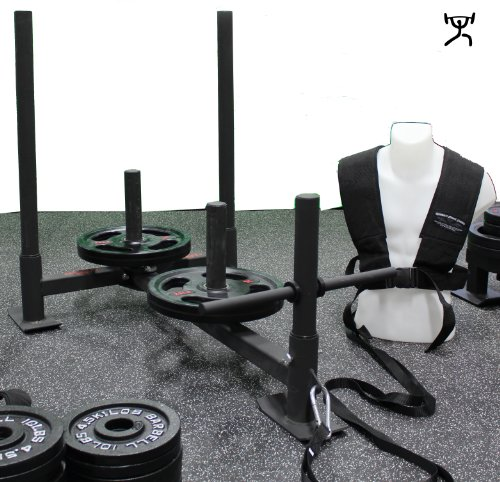 ALL NEW CFF V3 Hi/Lo Push Pull Sled - Great for CrossFit, Football, or MMA Training