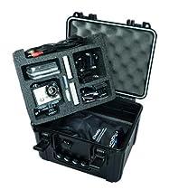 Go Professional Pro Watertight Rugged Case for HD GoPro Camera, Fits - Hero 2, Hero 3, Hero 3+