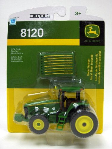 1:64 John Deere 8120 Tractor With Decal Sheet front-906825