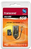 Transcend  1GB microSD with RDS3 Card Reader