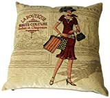 Urban Loft by Westex Tapestry Cushion, 20 by 20-Inch, Boutique