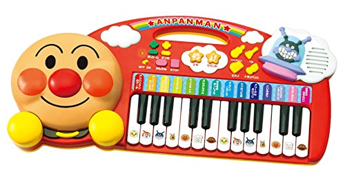 I love anpanman excited music keyboard