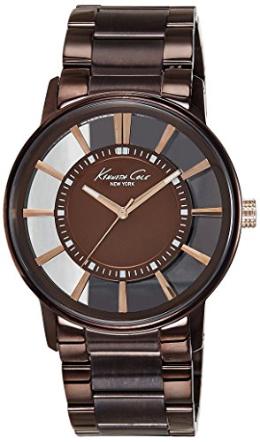 kenneth-cole-new-york-mens-kc9047-transparent-clear-brown-ion-plating-round-watch
