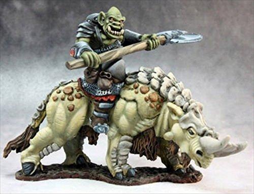 Tundra Beast rider of the Grim Reaper miniature 14632 Wf