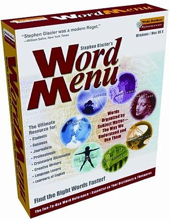 Word Menu 2.2