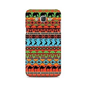 Ebby Colorful Village Premium Printed Case For Samsung J2 2016