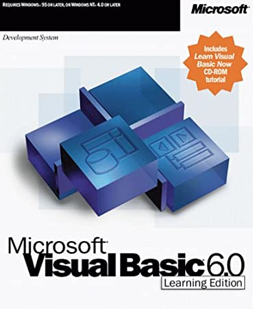 Microsoft Visual Basic 6.0 Learning Edition [Old Version]