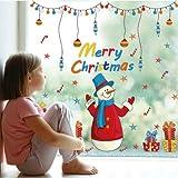 【ELEEJE】クリスマス 全9種類 ウォールステッカー はがせるシール (xm07)