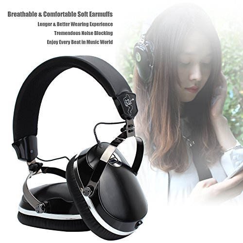 Vomercy Headphones - Over Ear Stereo Headphones With Noise Reducing