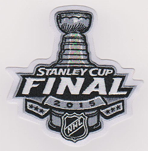2015 NHL Stanley Cup Final Champions Logo Jersey Patch Chicago Blackhawks vs. Tampa Bay Lightning