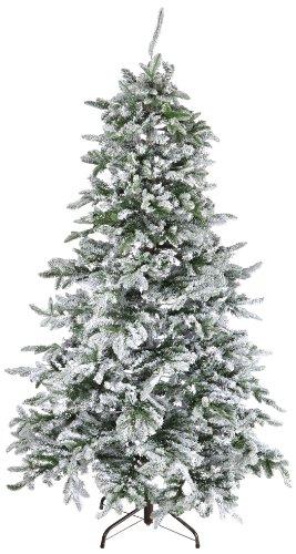 Kaemingk 688642 Noble Pine , beschneit, PE - PVC Nadel Mix, innen, Höhe 210 cm thumbnail