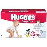 Huggies Snug & Dry Diapers Size 5 - 120 Ct