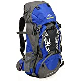 Modovo Ultralight Internal Frame Backpack for Camping Hiking Mountaineering 50L