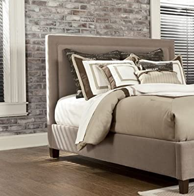 Spectacular Beige King California King Upholstered Headboard Signature Design by Ashley Furniture