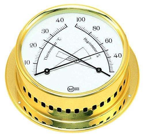 Comfortmeter Thermo / hygrometer mit Comfortzonenanzeige, gold