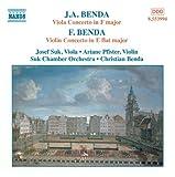 : Benda: Viola & Violin Concertos