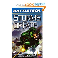 Storms of Fate (Battletech, No. 54) by Loren Coleman