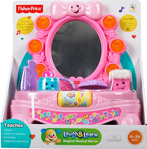 Fisher-Price Laugh & Learn Magical Musical Mirror - YouTube