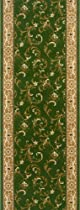 Big Sale Rivington Rug Dean Runner, Olive Garden, 2-Foot-2-Inch by 6-Foot