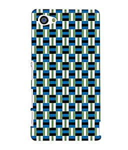 printtech Pattern check Back Case Cover for Sony Xperia Z5 Compact::Sony Xperia Z5 Mini