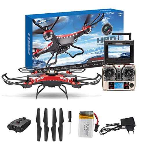 JJRC H8D FPV Headless Mode 6-Axis 2.4Ghz Gyro RTF RC Quadcopter Helicopt