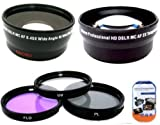 Big Mike'S Deluxe Lens Kit For Canon Digital Eos Rebel T1I, T2I, T3, T3I, T4I, T5I, Sl1, Eos M, Eos60D, Eos70D, 50D, 40D, 30D, Eos 5D, Eos1D, Eos5D Mark 2, Eos D Digital Slr Cameras Which Has Any Of These (18-55Mm, 55-250Mm, 100-300Mm, 18-250Mm, 70-300Mm