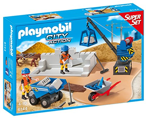 Playmobil 6144 - Superset Cantiere Edile