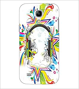 PrintDhaba Abstract Design D-2991 Back Case Cover for SAMSUNG GALAXY S4 MINI (Multi-Coloured)