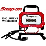 """Snap-on LED Work Light   New Model """"2000 LUMENS"""" Ultra Bright LED Worklight   Perfect for Photography, Video, Construction, Painting and Workshops"""