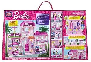 Mega Bloks Barbie: Build 'n Style Luxury Mansion