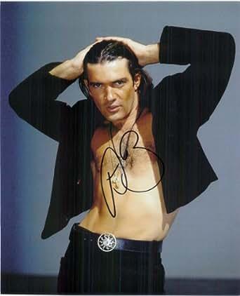 Signed Banderas, Antonio 8x10 Photo autographed at Amazon's