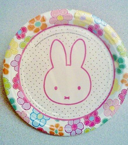 "Miffy / Nijntje Bunny Rabbit Birthday Party 7"" Dessert Plates ~ 12 Count"