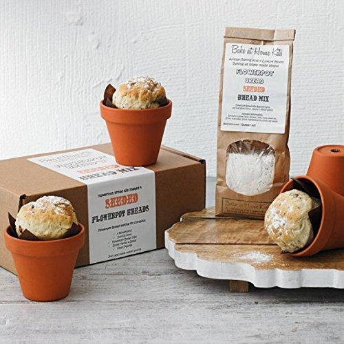 Artisan Seeded Flowerpot Bread Making Kit Impressive