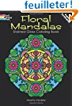 Floral Mandalas Stained Glass Colorin...