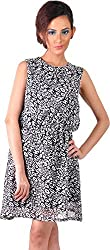 Mabyn Women's A-Line Dress (SSSSD01 _M, Black, M)