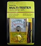 AC DC OHM VOLTMETER AMMETER MULTIMETER MULTI ELECTRIC WATCH TESTER REPAIR TOOL