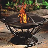 CobraCo FB8001 Aegean Steel Fire Pit