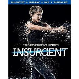 Insurgent - 3D Blu-ray &  DVD Combo + Digital HD [Blu-ray]