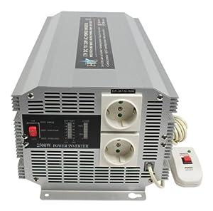 HQ Onduleur 2500 w, 12 v-230 v