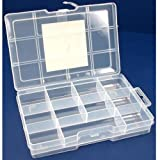 SE 8721BB Parts Box with lock 11 compartments