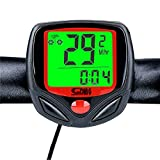 Wolfride® Outdoor Sport Wired Bike Computer Bicycle Odometer Speed Meter Backlight with 23 Functions WFR Bike